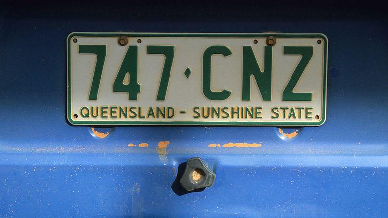 queensland australia rekisteritunnus