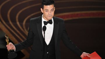 Rami Malek Oscar-gaala 25.2.2019 1