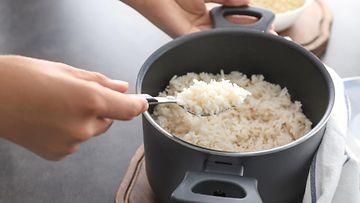 riisi kattila keittäminen