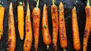 porkkana uunissa
