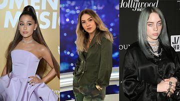 Ariana Grande Evelina Billie Eilish