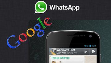 Google tekemässä miljardikaupat huippusuositusta kännykkäsovelluksesta