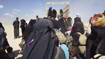 syyria isis pakolaiset