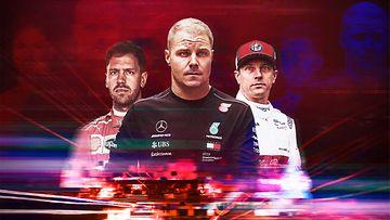 F1-kausi 2019 alkaa MTV:llä maaliskuussa