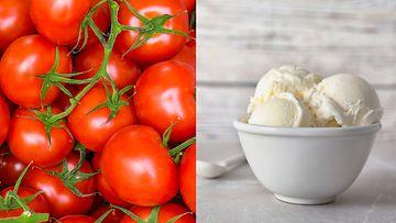 tomaattijäätelö