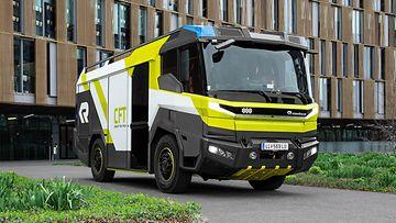volvo penta rosenbauer concept fire truck cft