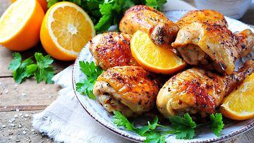 broileri koipipalat appelsiini