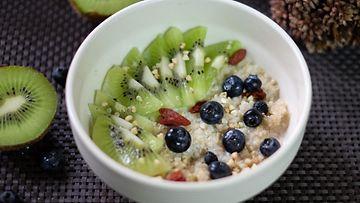 quinoa bowl puuro