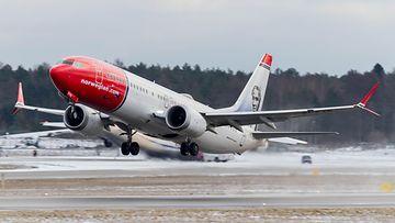 AOP Norwegian Boeing 737 Max 8