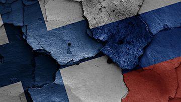 suomi venäjä lippu kuvitus liput