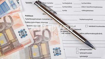 Tyeöhtosopimus palkka palkkaus AOP