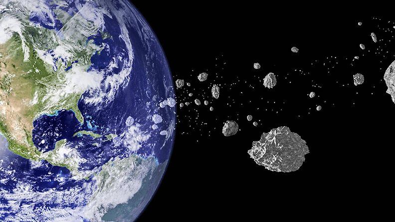 asteroidi maa