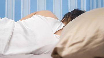 nainen nukkuu, uni, nukkua