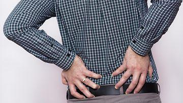 alaselkä, selkäkipu, selkäsärky