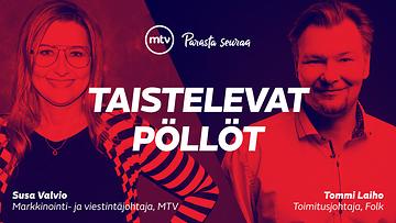 Taistelevat pöllöt -artikkelisarjassa Tommi Laiho ja Susa Valvio keskustelivat datan ja tunteen merkityksestä markkinoinnissa