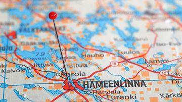 Hämeenlinna kartta AOP