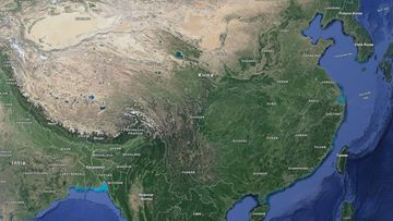 Kiina-kartta