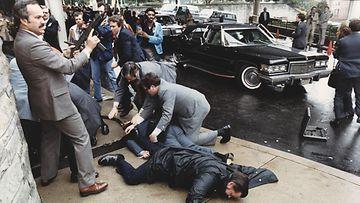 Ronald Reagan murhayritys 30.3.1981 Washington D.C.:ssä