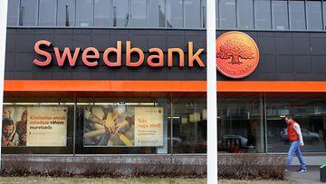 Swedbankin konttori Tallinnassa maaliskuu 2019