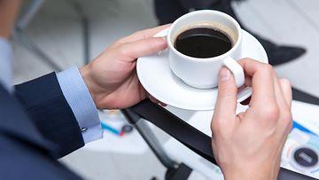 kahvi kahvikuppi