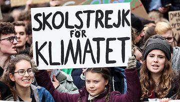 Greta Thunberg ilmastolakko