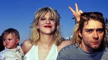Kurt Cobain, Courtney Love, Frances Bean Cobain 1993