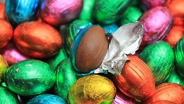 suklaamuna pääsiäismuna