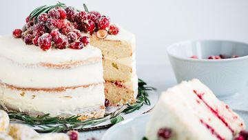 kakku täytekakku karpalo