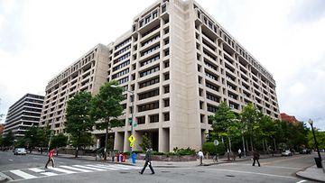 Kansainvälisen valuuttarahaston pääkonttori Yhdysvalloissa Washingtonissa 2011