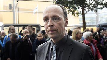 LK Jussi Halla-aho HS:n vaalitentissä 9.4.2019