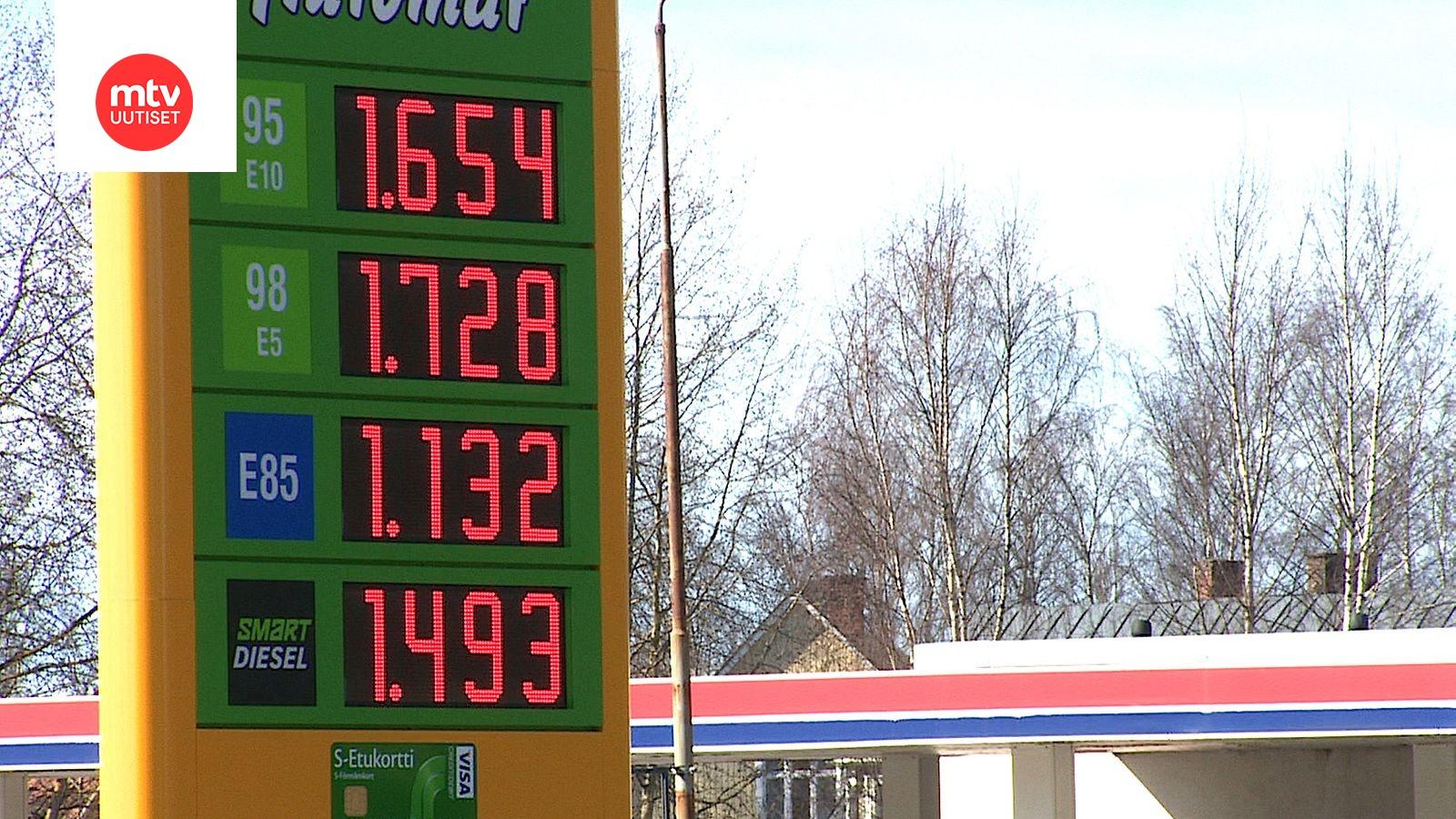E85 Gas Stations >> Bensan Litrahinta Nousi Nopeasti Paikoin Jopa 10 Sentilla