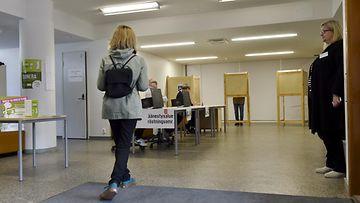 LK äänestys eduskuntavaalit