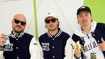 Teflon Brothers 2017 Pyhimys, Voli ja Heikki Kuula