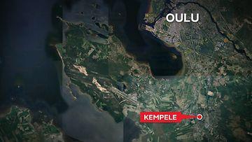 Kempele kartta