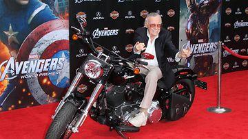 Stan Lee Avengers: Age of Ultron -kutsuvierasensi-illassa vuonna 2012