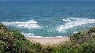 ranta, vesi, aallokko
