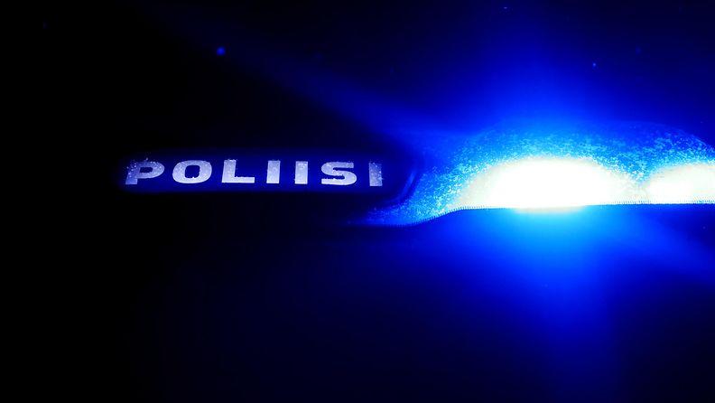 kuvituskuvaa poliisiauton valo tammikuu 2019