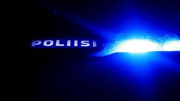 kuvituskuvaa poliisi valot