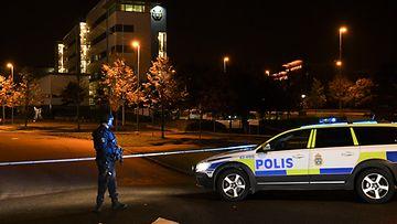 AOP Ruotsi poliisi Helsingborg poliisitalo pommi-isku 2017