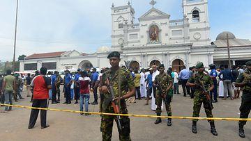 LK Sri Lanka räjähdys