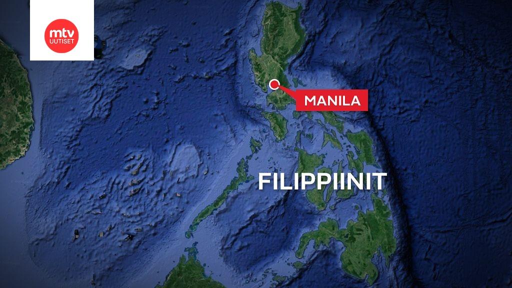 Voimakas Maanjaristys Filippiineilla Afp Rakennuksia Sortunut