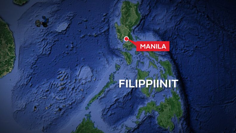 Filippiinit-kartta-manila