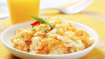 munakokkeli kananmuna aamupala