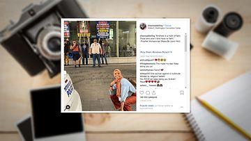 Instagram-kuvakaappaus