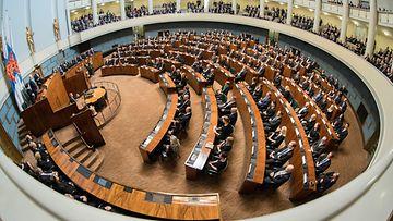 Eduskuntatalo, istuntosali 2019
