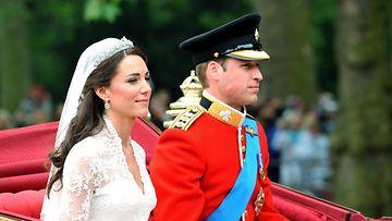 herttuatar Catherine prinssi William häät 2011
