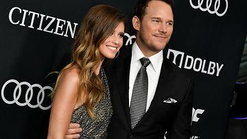 Chris Pratt ja Katherine Schwarzenegger Avengers Endgamen ensi-illassa
