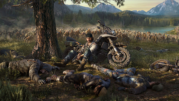 Days Gone_artwork wallpaper