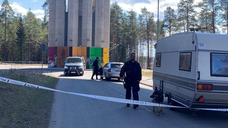 Oulu, rikosepäily, Puolivälikangas