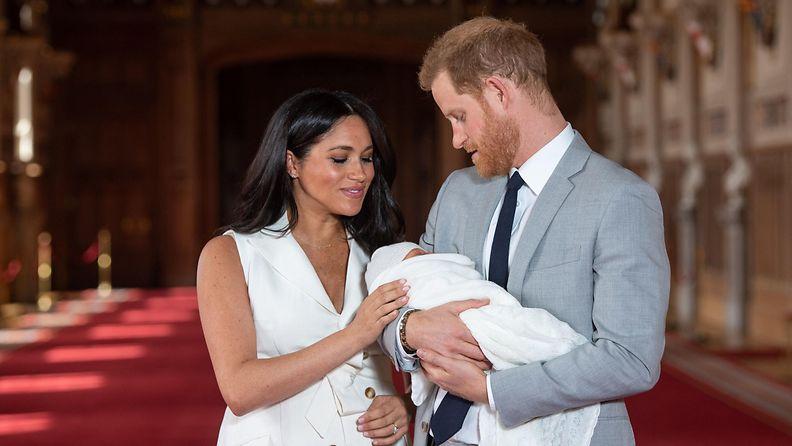 herttuatar Meghan prinssi Harry Archie Harrison